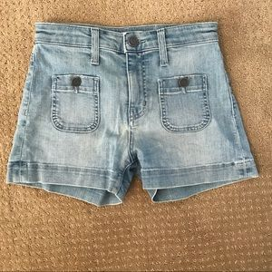 Joie high waisted jean shorts